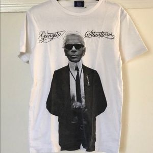 Fucking Awesome Shirts - Fucking Awesome Karl Lagerfeld T-Shirt size M